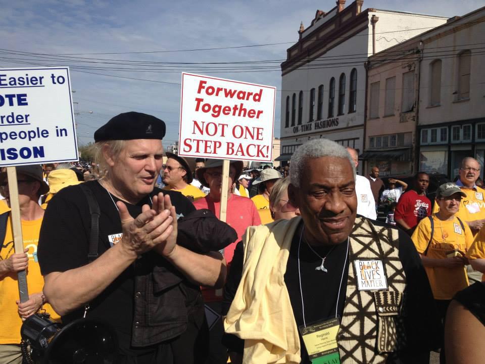 Selma, AL, Sunday March 8, 2015, with 70,000 crossing the Edmund Pettus Bridge
